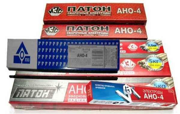 Электроды АНО-4: где используются и их характеристики