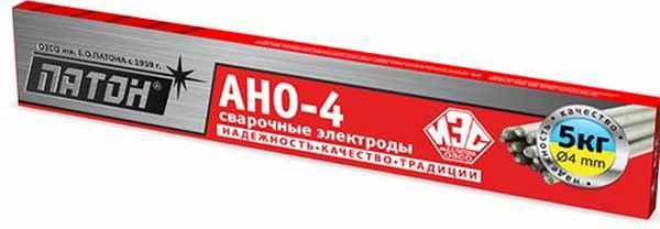 Где используются электроды АНО-4