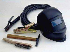 Инструменты сварщика ручной дуговой сварки и принадлежности
