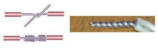 Виды соединения кабелей