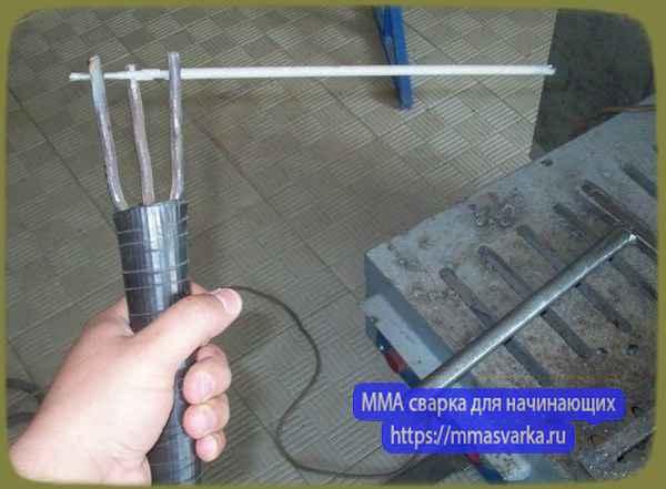Сварка нержавейки и черного металла электродом