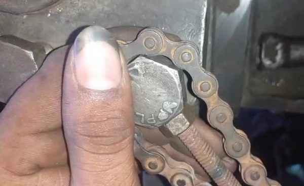 Как сделать цепной ключ своими руками
