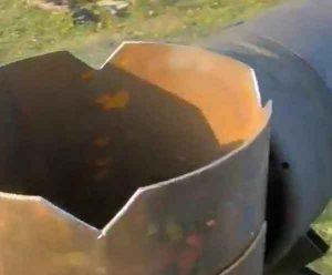 Самодельный мангал 2 в 1 из газовых баллонов