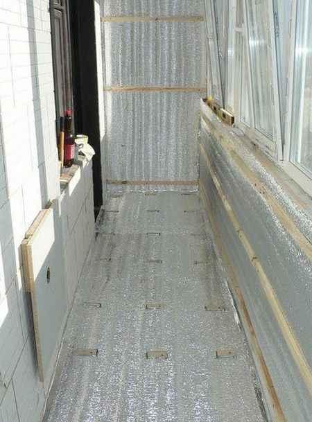 Ошибки при утеплении балконов