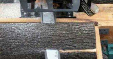 Как распилить бревно на доски бензопилой самостоятельно