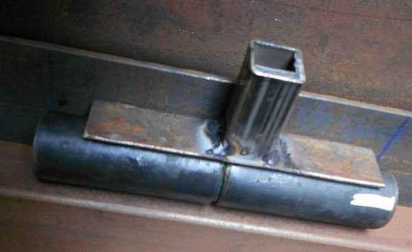 Как сделать петли на двери, ворота, калитку