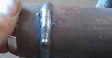Как варить электродом без шлаковых включений