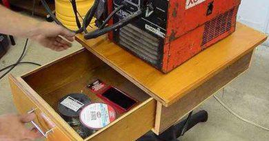 Как сделать тележку для сварочного аппарата своими руками