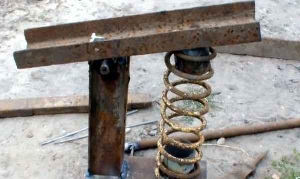 Как сделать механический дровокол своими руками