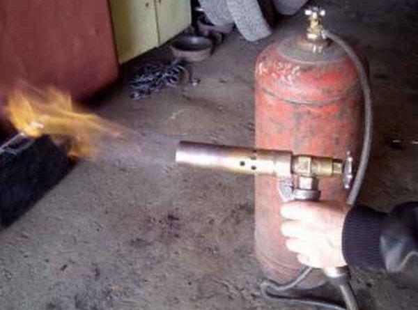 Как переделать паяльную лампу под газ пропан-бутан