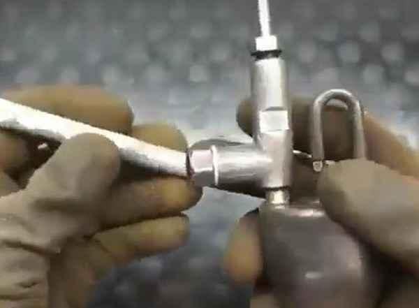 Переделка паяльной лампы под газ