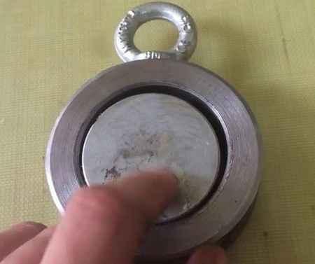 Поисковый магнит своими руками из неодимовых магнитов