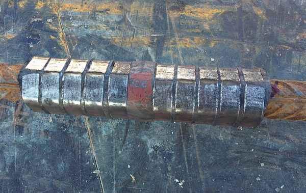 Муфтовое соединение арматуры