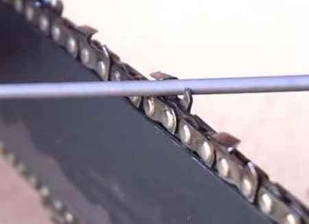 Самодельный станок для заточки цепей бензопил