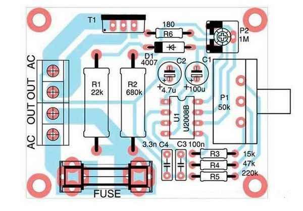 Схема регулятора оборотов для электродвигателя