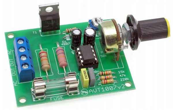 Регулятор оборотов для электродвигателя своими руками