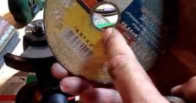 Как ставить диск на болгарку: кольцом наружу или вовнутрь