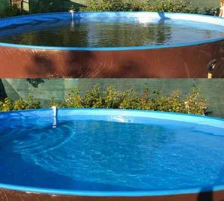 Пожалуй, лучшее средство от цветения воды в бассейне