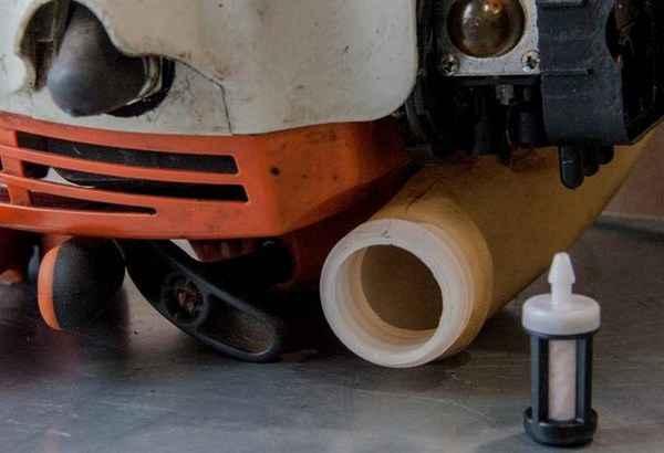 Настройки карбюратора и чистка фильтров триммера