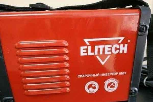 Обзор инвертора ELITECH 180 для TIG/MMA сварки