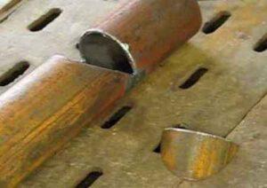 Как заварить трубу в труднодоступном месте