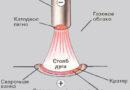Тепловые свойства сварочной дуги и полярность тока
