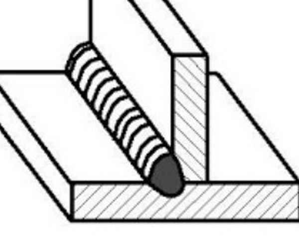 Как варить угловые швы в нижнем положении