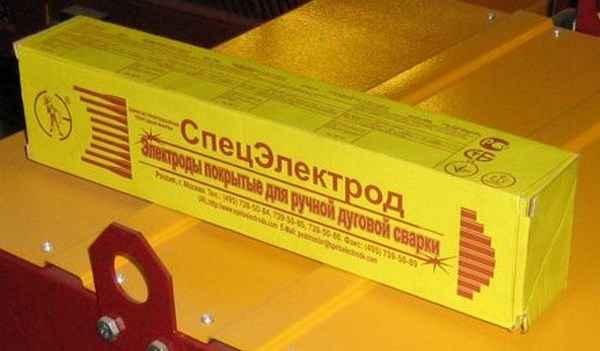 Основные марки рутиловых электродов