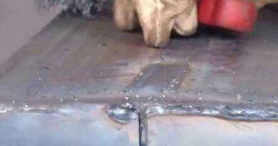 Сварка тонкостенного металла инвертором и электродом