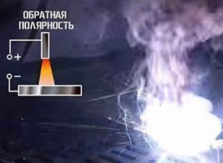 Какой полярностью варить тонкий металл (плюс на держак или минус)