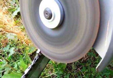 Можно ли точить цепь бензопилы болгаркой и как правильно