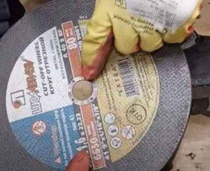 Зачем ставят диск на болгарку картинкой вовнутрь, и что это дает